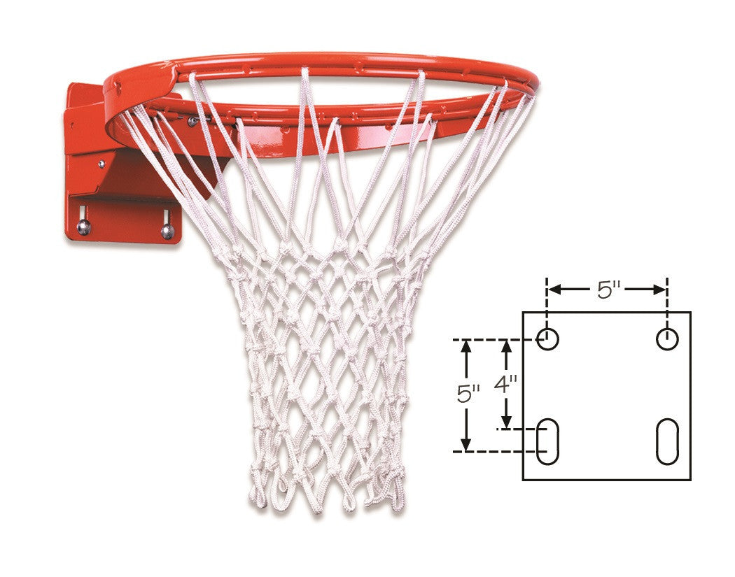 First Team Tube Tie Adjustable Competition Breakaway Basketball Goal FT192TA