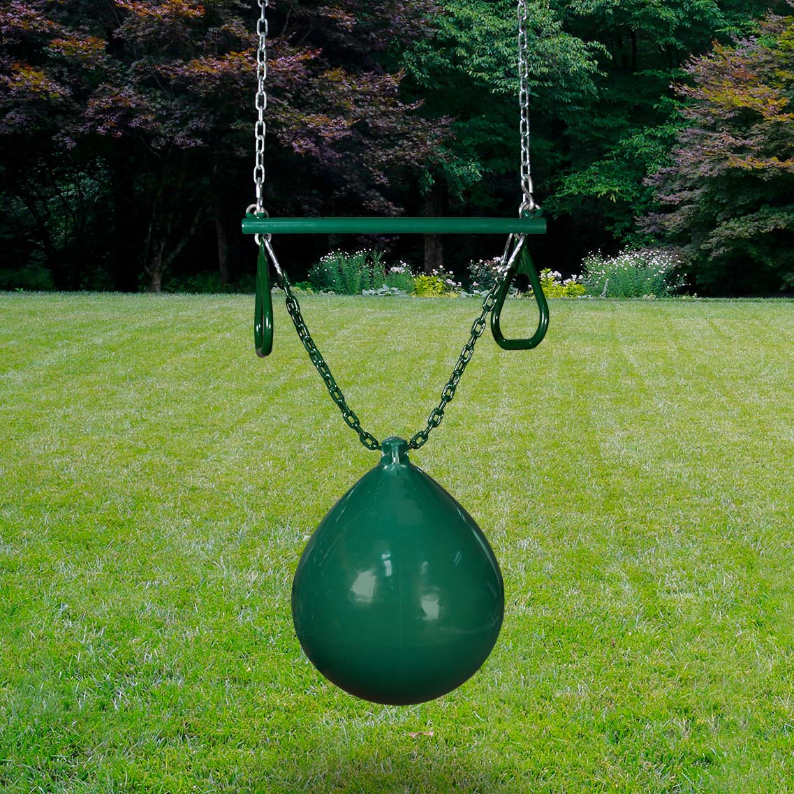 Gorilla-Playsets-Bouy-Ball-W-Trapeze-Green