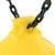 Gorilla-Playsets-Bouy-Ball-W-Trapeze-Yellow-Close-Up