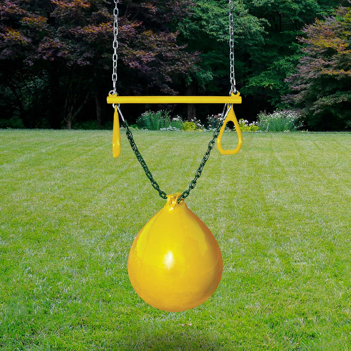 Gorilla-Playsets-Bouy-Ball-W-Trapeze-Yellow