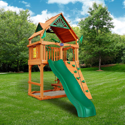 Gorilla-Playsets-Chateau-Tower-Wooden-Swingset-Side-2