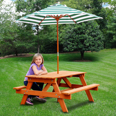 Gorilla-Playsets-Children's-Picnic-Table-Side2