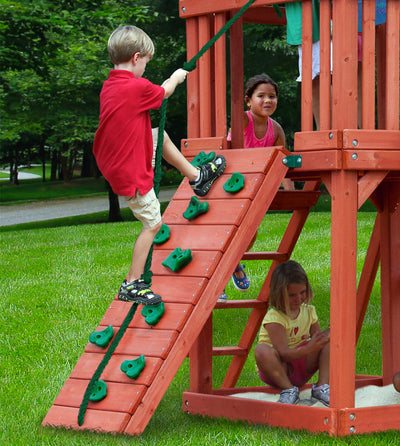 Gorilla-Playsets-Double-Down-Swing-Set-Rockwall