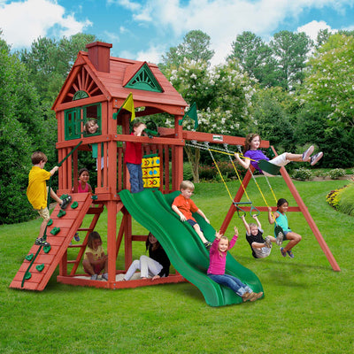 Gorilla-Playsets-Double-Down-Swing-Set