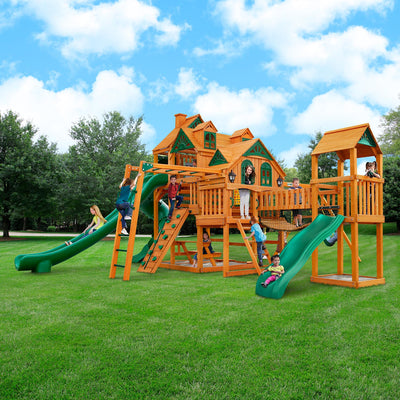 Gorilla-Playsets-Empire-Extreme-Wooden-Swingset-Front