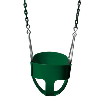 Gorilla-Playsets-Full-Bucket-Swing-Green-White-Back