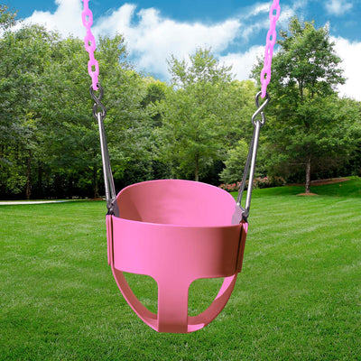 Gorilla-Playsets-Full-Bucket-Swing-Pink