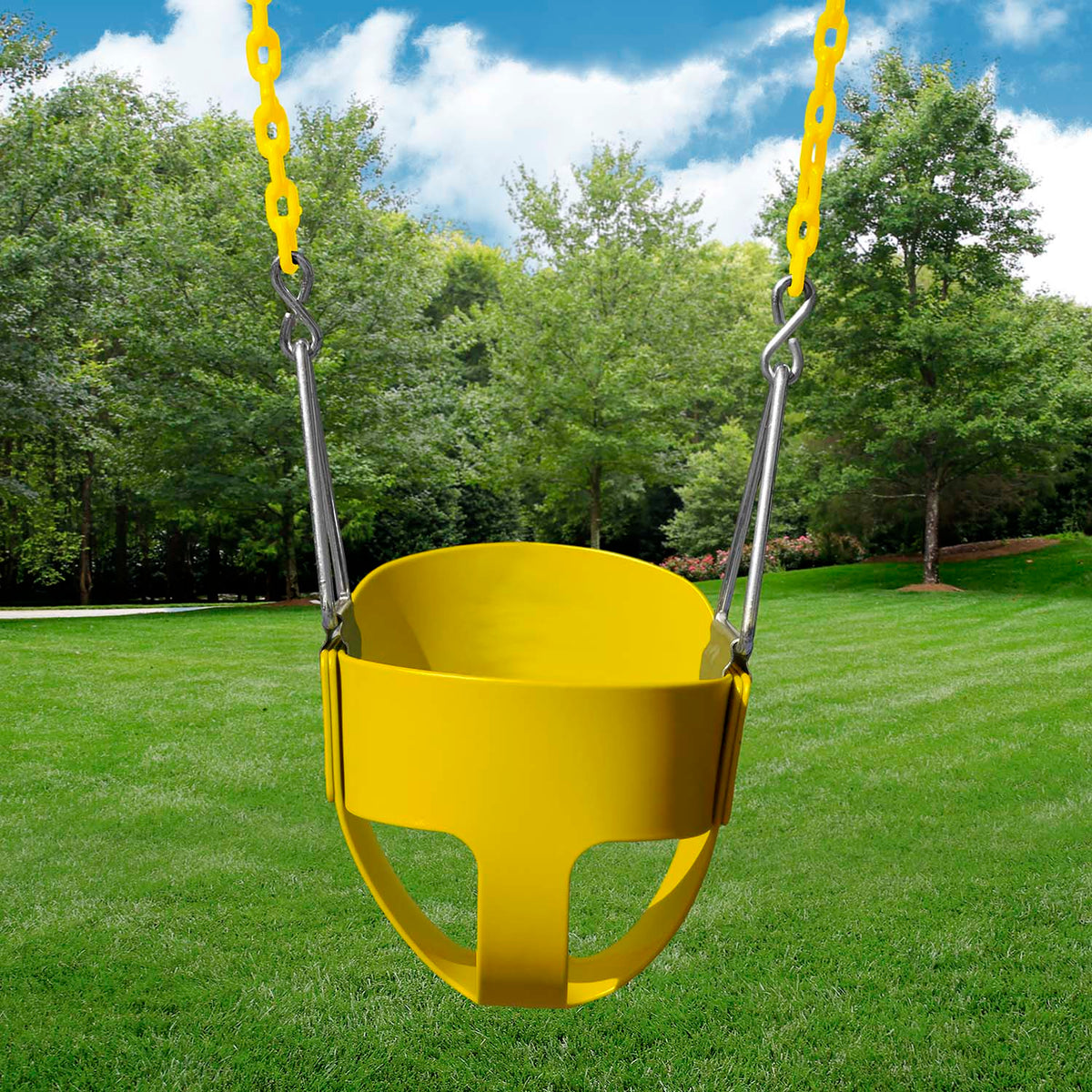 Gorilla-Playsets-Full-Bucket-Swing-Yellow