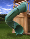 Gorilla-Playsets-Green-Super-Tube-Slide-7-Foot