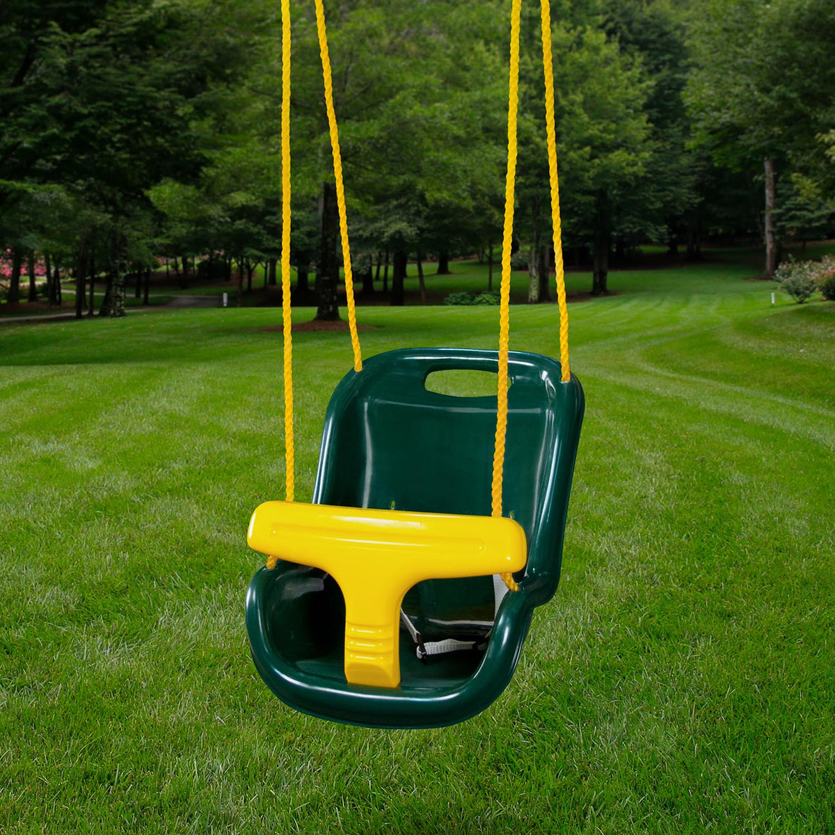 Gorilla-Playsets-Infant-Swing-Green