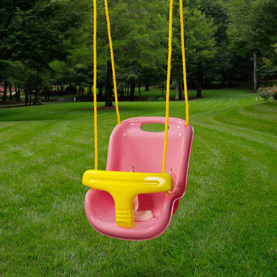 Gorilla-Playsets-Infant-Swing-Pink