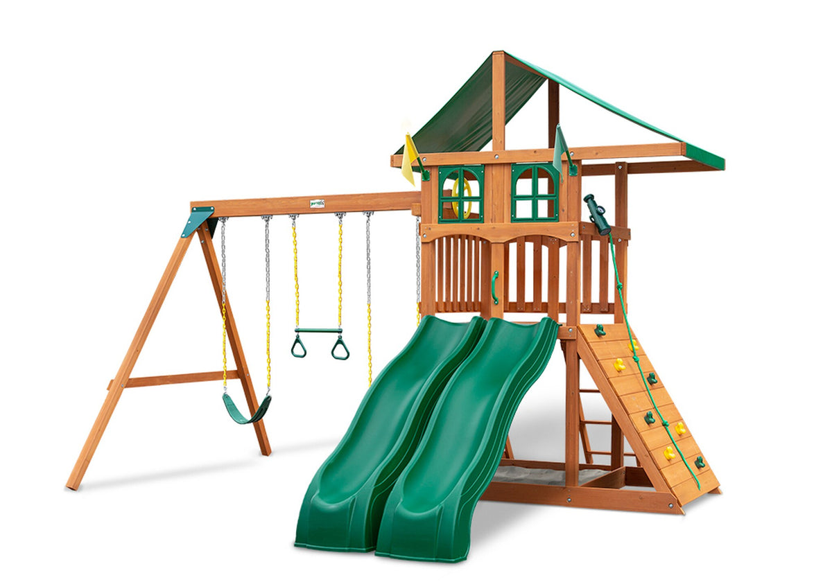 Gorilla-Playsets-Outing-W-Dual-Slides-Wooden-Swing-Set-Window-Option