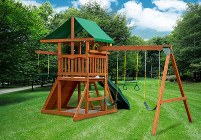 Gorilla-Playsets-Outing-W-Trapeze-Bar-Wooden-Swing-Set-Back