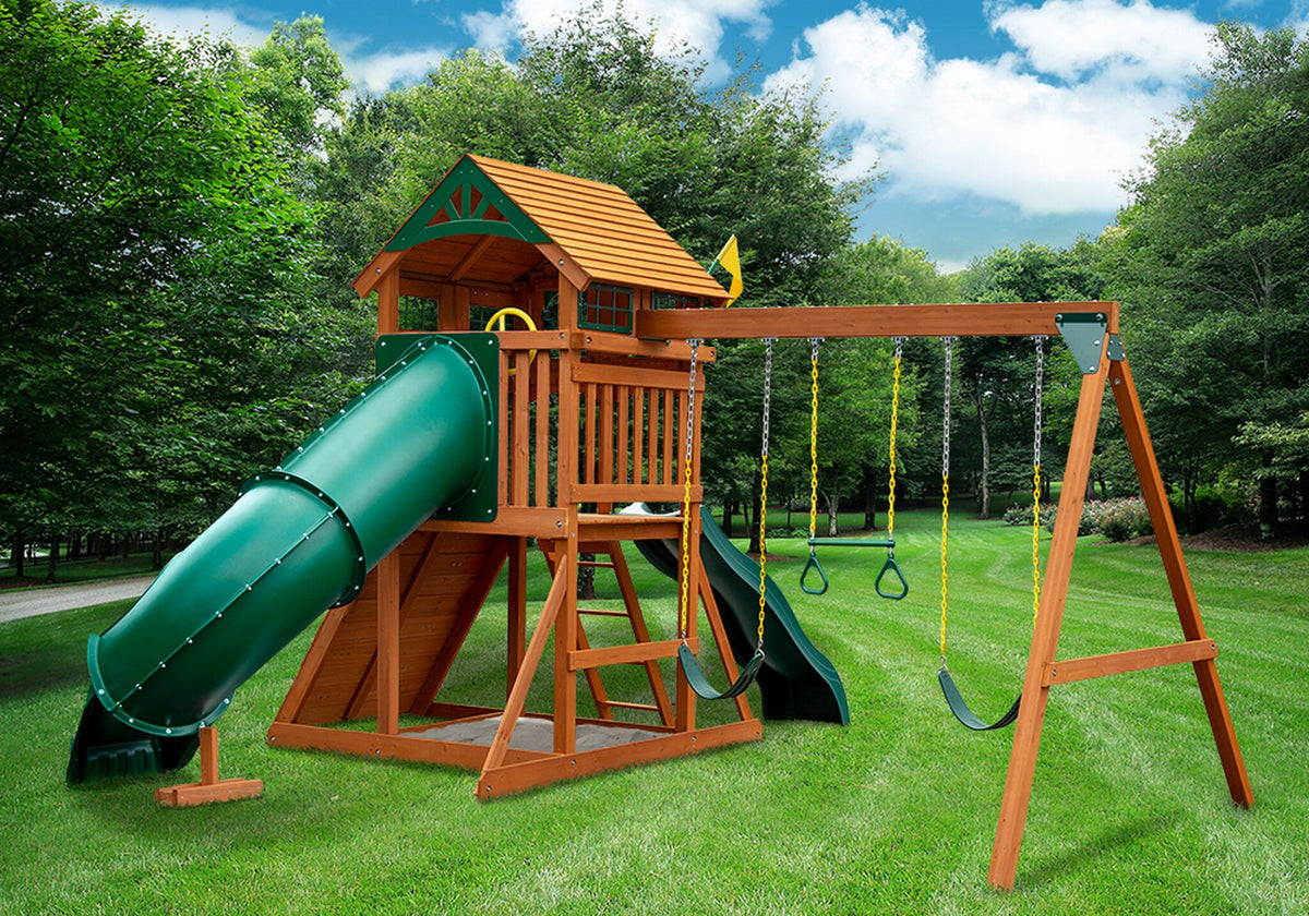 Gorilla-Playsets-Outing-W-Tube-Slide-Wooden-Swing-Set-Back