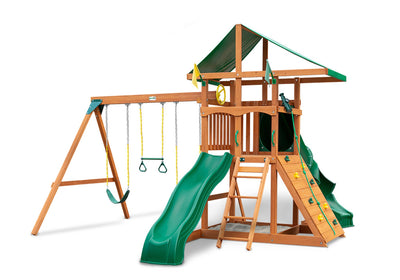 Gorilla-Playsets-Outing-W-Tube-Slide-Wooden-Swing-Set-White-Back