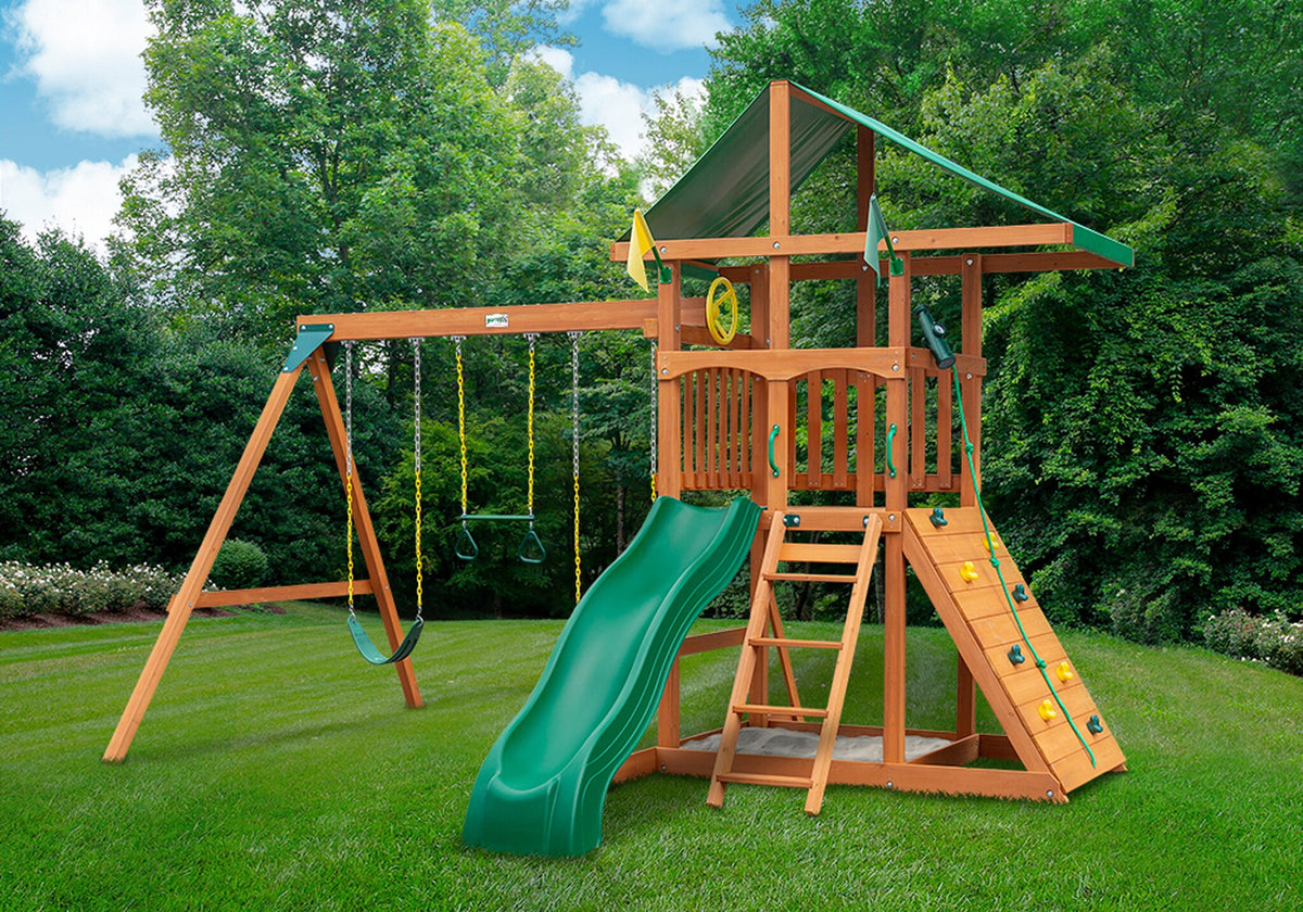 Gorilla-Playsets-Outing-Wooden-Swing-Set-Front