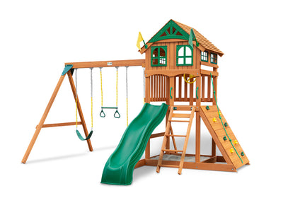 Gorilla Playsets Outing Wooden Swing Set