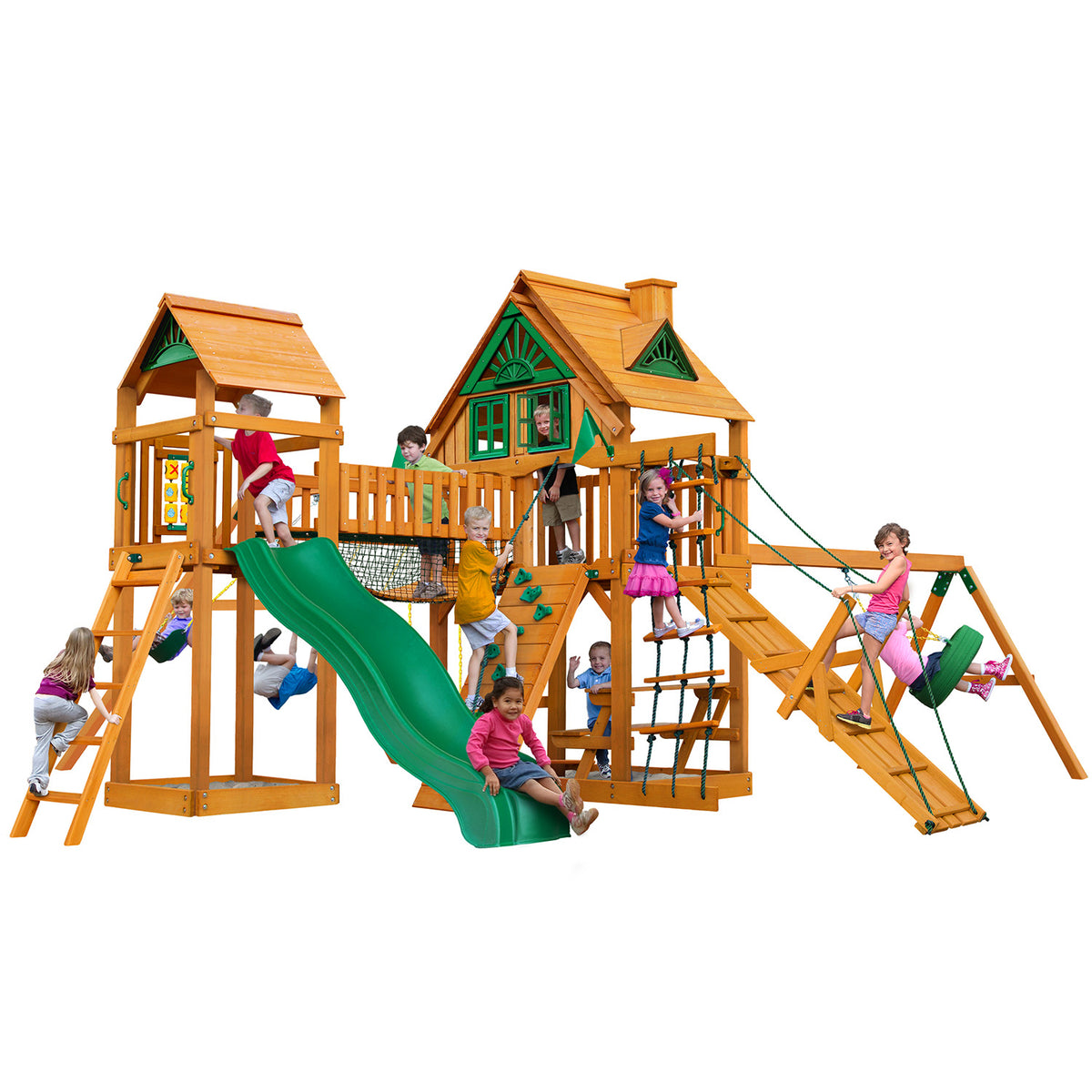 Gorilla-Playsets-Pioneer-Peak-Treehouse-Wooden-Swingset-White-Back