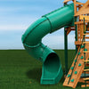 Gorilla-Playsets-Radical-Ride-7ft-Tube-Slide-Green-from-NJ-Swingsets