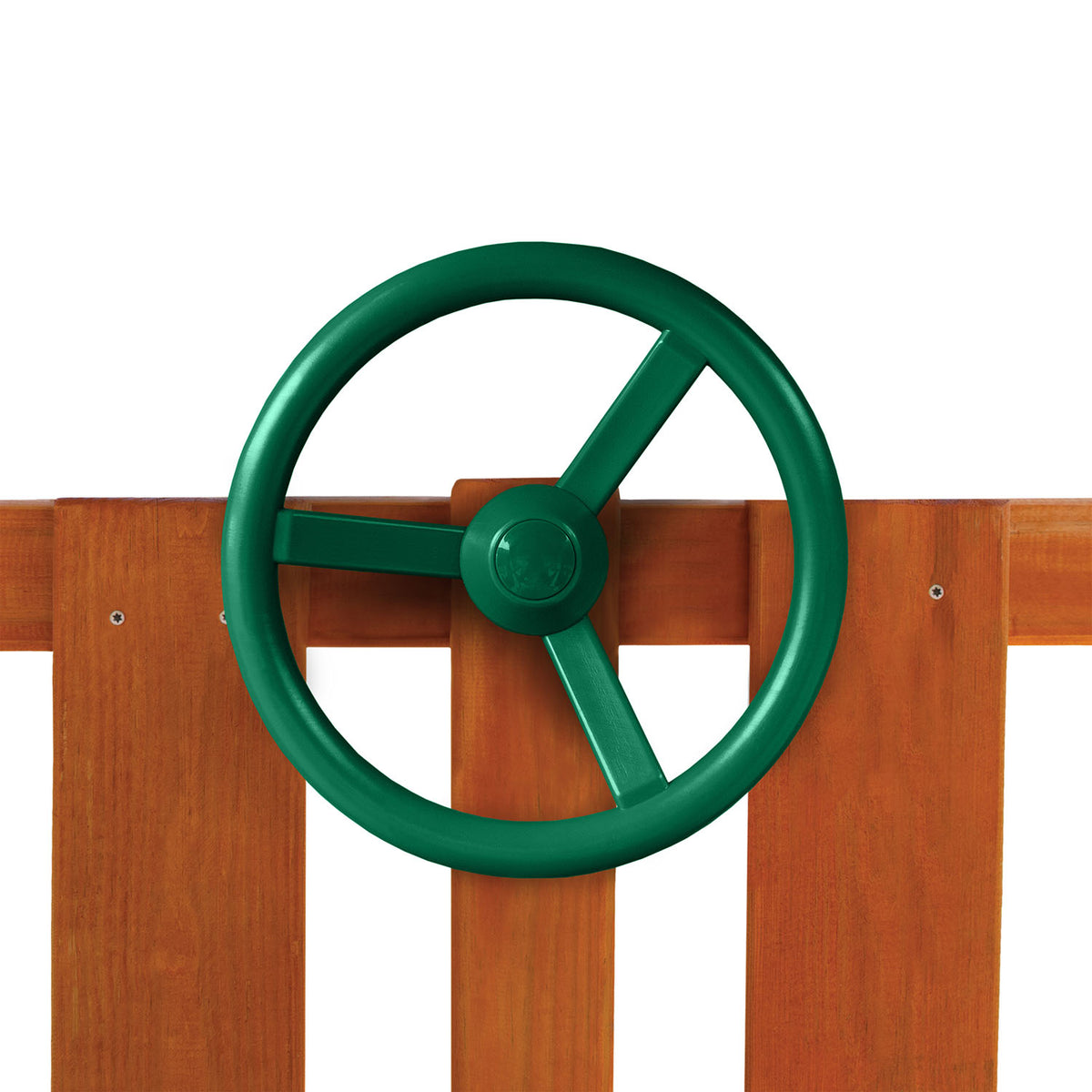 Gorilla-Playsets-Steering-Wheel-Green-Installed-White-Back