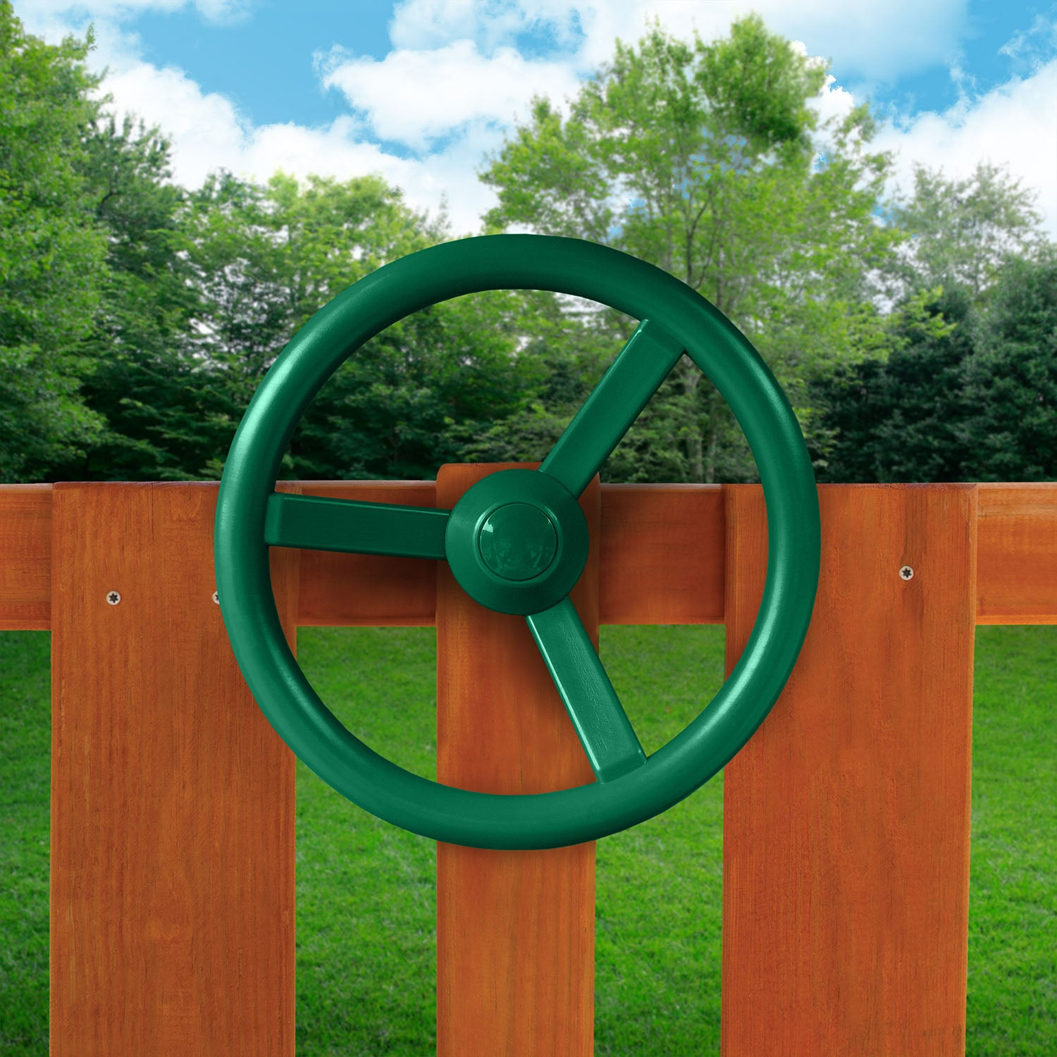 Gorilla-Playsets-Steering-Wheel-Green