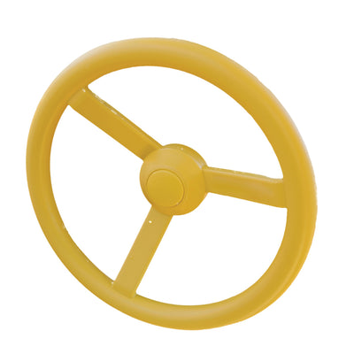Gorilla-Playsets-Steering-Wheel-Yellow-Side-White-Back