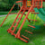 Gorilla-Playsets-Sun-Palace-II-Wooden-Swing-Set-Ropes