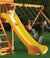 Gorilla Playsets Super Scoop Slide for 5ft Deck Heights