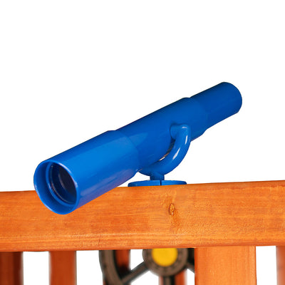 Gorilla-Playsets-Telescope-Blue-from-NJ-Swingsets-Studio