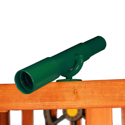 Gorilla-Playsets-Telescope-Green-from-NJ-Swingsets-Studio