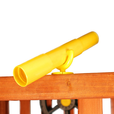Gorilla-Playsets-Telescope-Yellow-from-NJ-Swingsets-Studio