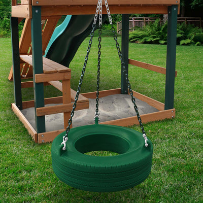 Gorilla-Playsets-Tire-Swing-Green
