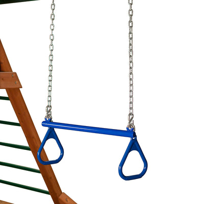 Gorilla-Playsets-Trapeze-Bar-21-inch-Blue-from-NJ-Swingsets-Studio