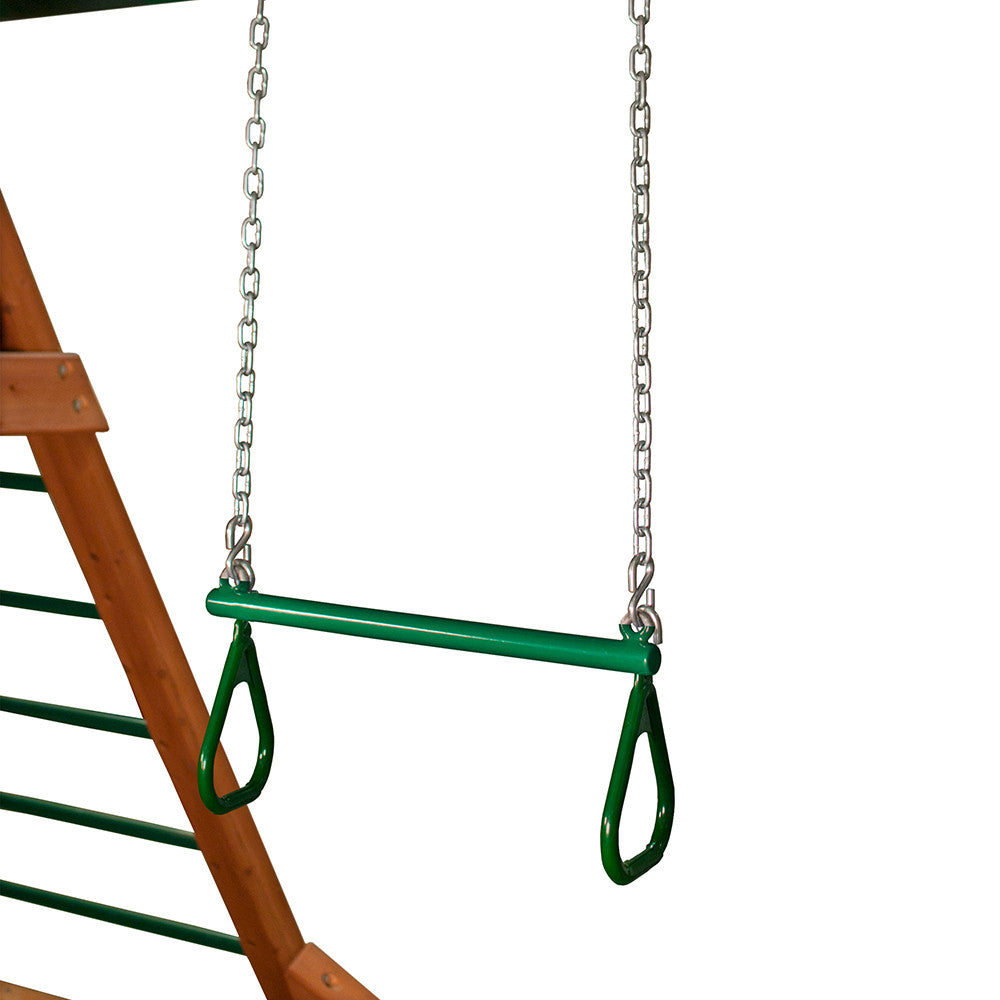 Gorilla-Playsets-Trapeze-Bar-21-inch-Green-from-NJ-Swingsets-Studio