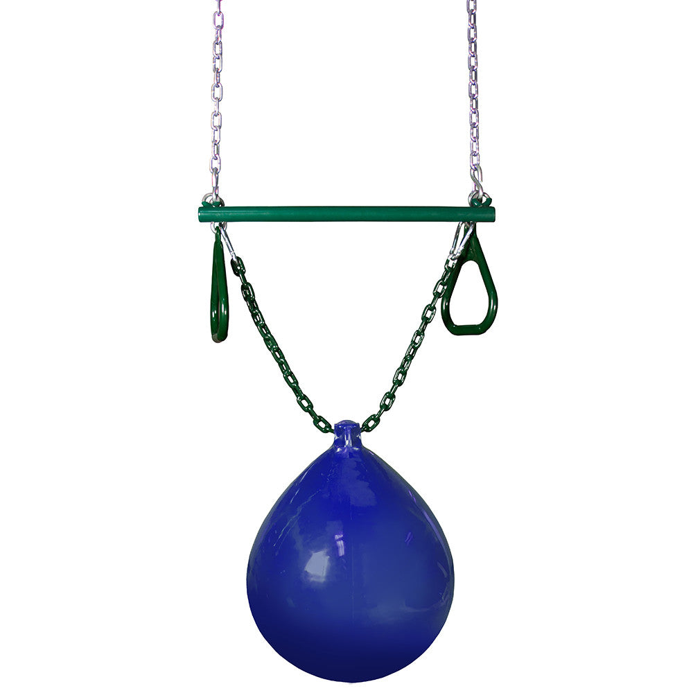 Gorilla Playsets Trapeze Bar with Buoy Ball
