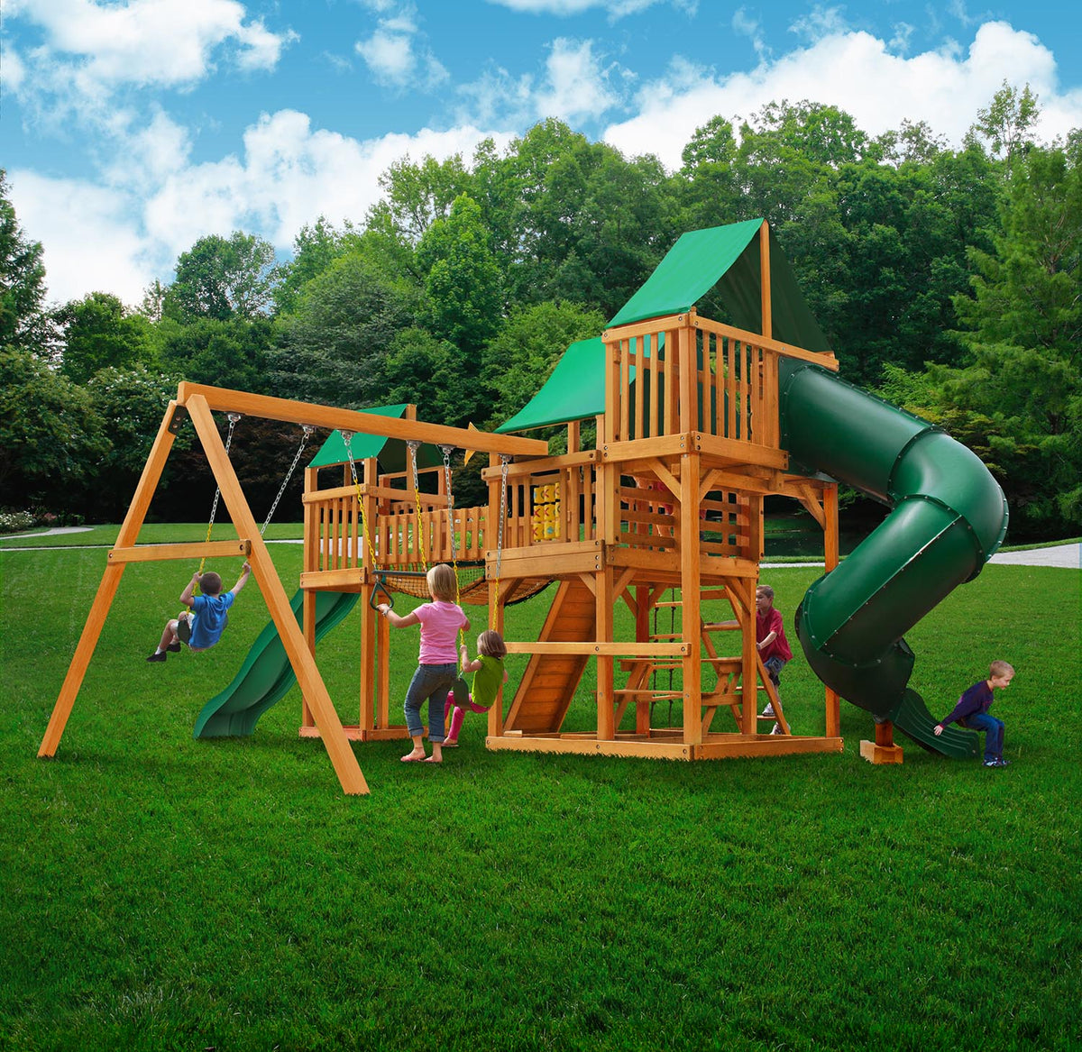 Gorilla-Playsets-Treasure-Trove-I-Deluxe-Wooden-Swingset-Back