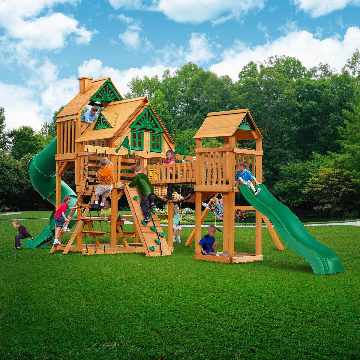 Gorilla-Playsets-Treasure-Trove-I-Treehouse-Wooden-Swingset