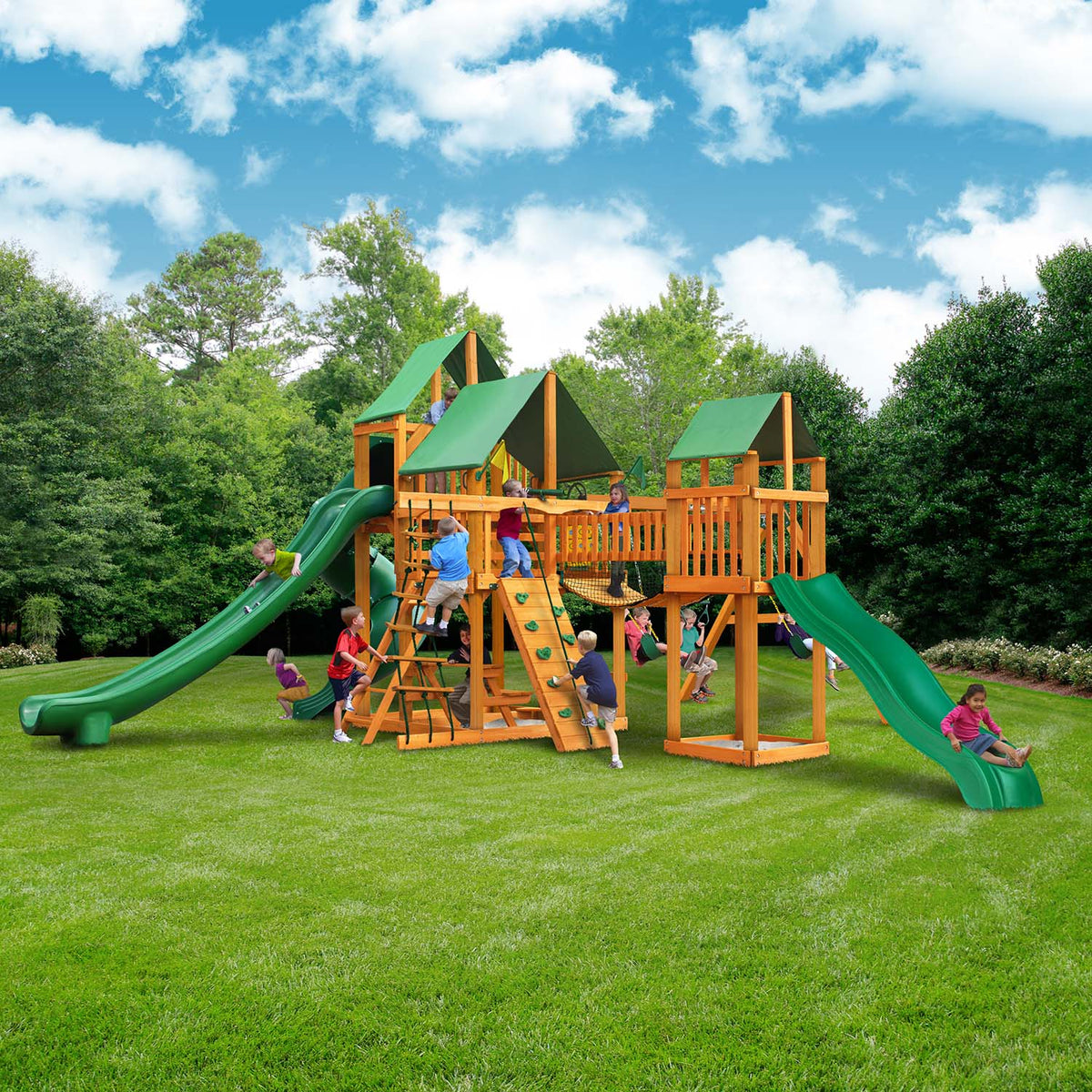 Gorilla-Playsets-Treasure-Trove-II-Deluxe-Wooden-Swingset