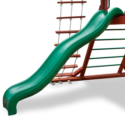 Gorilla-Playsets-Wiki-Wave-Slide-Green-from-NJ-Swingsets-Studio