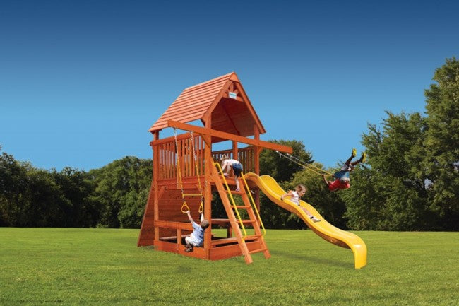 Playground-One-Deluxe-Fort-Spacesaver-Double-Swing-Arm
