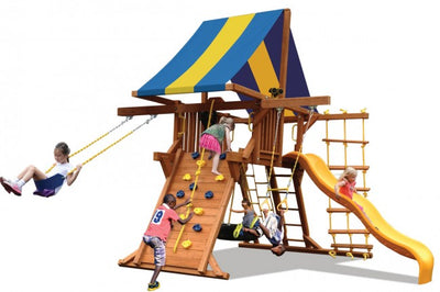Playground-One-Deluxe-Playcenter-Double-Swing-Arm-White-Back