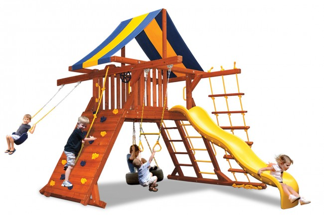 Playground-One-Original-Playcenter-Double-Swing-Arm-White-Back