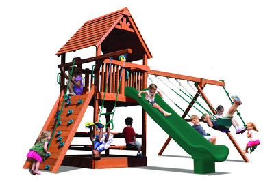 Playground-One-Turbo-Deluxe-Fort-Combo-2-Green-Green-Studio