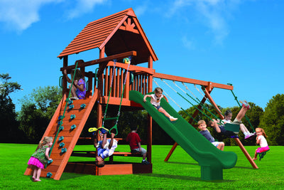 Playground-One-Turbo-Deluxe-Fort-Combo-2-Green-Green