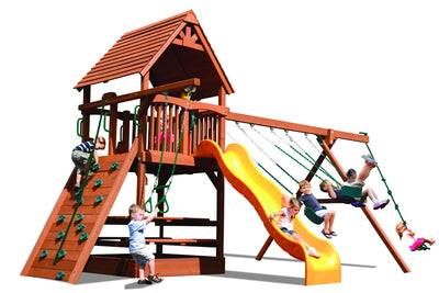Playground-One-Turbo-Deluxe-Fort-Combo-2-Green-Yellow-Studio