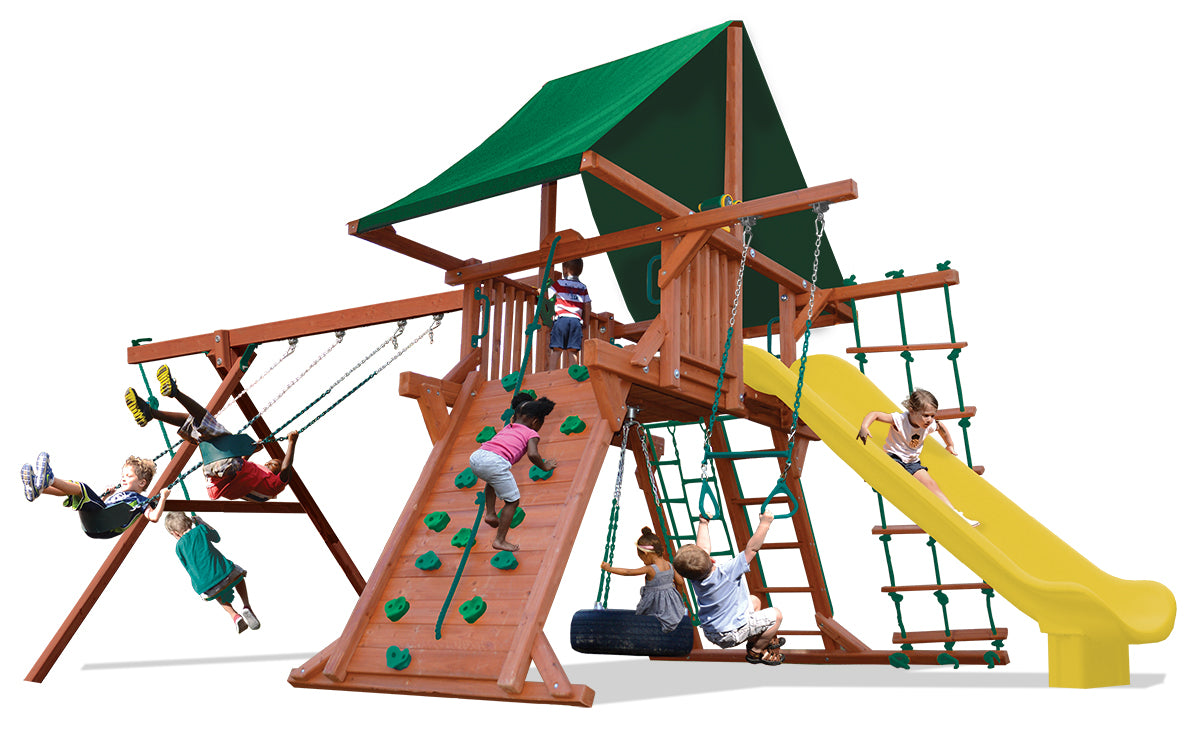 Playground-One-Turbo-Deluxe-Playcenter-Combo-2-Green