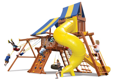 Playground-One-Turbo-Deluxe-Playcenter-Combo-5-Blue-Yellow-Blue-Studio