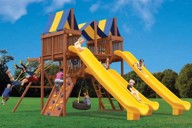 Playground-One-Turbo-Deluxe-Playcenter-Slide-City