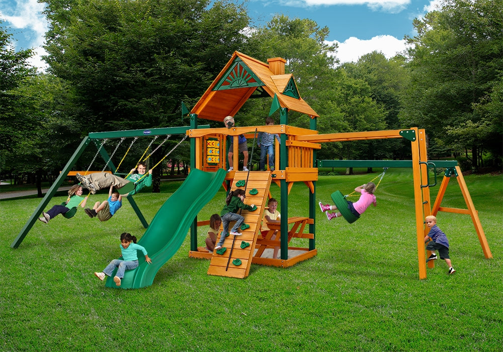 Playnation-Dogwood-Wooden-Swing-Set