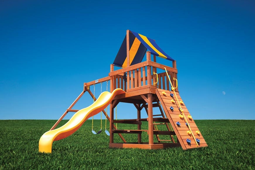 Playground-One-Original-Fort-with-2-Position-Swing-Beam